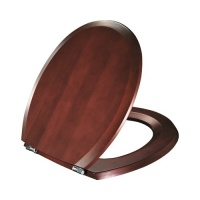 Selandia Luxury Solid Wood Toilet Seat - Mahogany