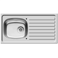 Pyramis Single Bowl & Drainer Kitchen Sink