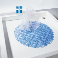 Riverstone Shower Mat - Blue