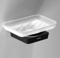 S6 Black Soap Dish