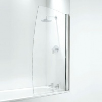 Sail Premium Square Overbath Shower Screen