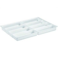 Shallow Dental Drawer Insert - 8 Compartment Tray