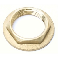 Large Brass Threaded Backnuts - 1.25'' & 1.5'' BSP Sizes