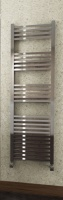 Square Bar Heated Towel Rail - 800 x 600