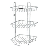 Stainless Triple Wire Storage Caddy
