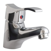 Thermassure 'Anti-Scald' Wave Handle Basin Tap