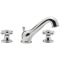 Victorian 3 Hole Basin Mixer Tap