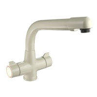 Taurus Kitchen Monobloc Tap - White