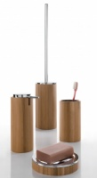 Altea Bamboo Freestanding Bathroom Accessory Set