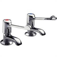 Performa Utility Professional Extended Lever Basin Taps (pair)