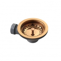 Luxe Basket Strainer Waste - Copper
