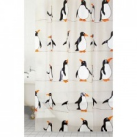 Fun Penguins Value Shower Curtain