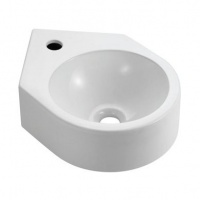 Compact Corner Fit Medical Basin