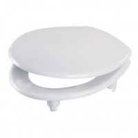 Wirquin Pro Raised Height Toilet Seat With Cover