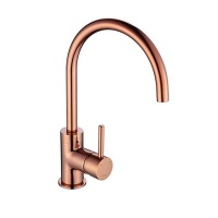Courbe Kitchen Sink Mixer - Copper