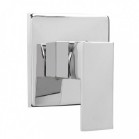 Cube Manual Shower Valve - Concealed Design