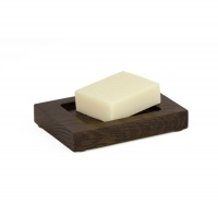Mezza Dark Oak Soap Dish