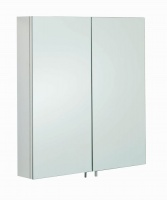Delta Double Bathroom Cabinet with Mirrored Doors
