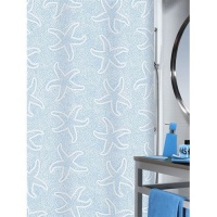 Starfish Luxury Shower Curtain by Spirella