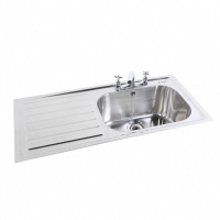 Extra Deep Commercial Sink - 250mm Deep Bowl