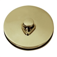 Replacement Bath/Sink Plug - Gold Plated