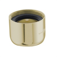 22mm Female Tap Spout Aerator - Gold Finish