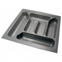 Rigid Plastic Cutlery Tray - Medium