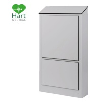 Hart Half Height Hospital IPS Panel - Light Grey