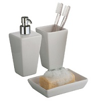 Jamila Freestanding Ceramic accessory Set