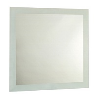 Spanish Collection Accid Square Bathroom Mirror