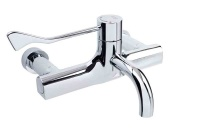 HTM SafeTouch Thermostatic Wall Tap