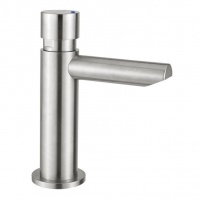 Inta Non Concussive Basin Tap - Stainless Steel