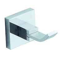 Kube Square Robe Hooks (Pair)