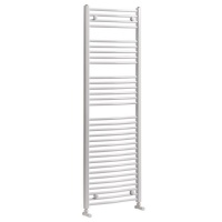 Milan Curved Heated Towel Rail - 1200 x 500