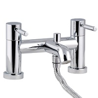 Minima Lever Handle Bridge Bath Shower Mixer