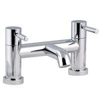 Minima Lever Handle Bridge Bath Filler