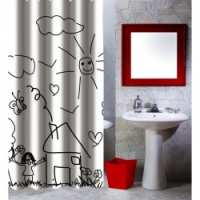 Childrens Garden Shower Curtain