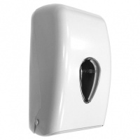 Nofer Classic White Bulk Toilet paper Dispenser