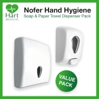 Nofer Soap & Towel Dispenser Pack