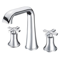 Neo Classica Cross Handle 3 Hole Basin Filler