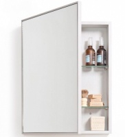 Oyster Oak  Slimline '550' Bathroom Cabinet