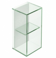Pier 2 Box Glass Shelf - Clear