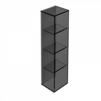 Pier 4 Box Glass Shelf - Black