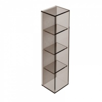 Pier 4 Box Glass Shelf - Bronze