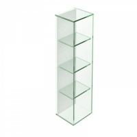 Pier 4 Box Glass Shelf - Clear