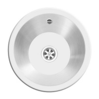 Royal Mini Round Stainless Sink
