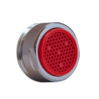 Colourmatch 24mm Tap Spout Aerator - Red