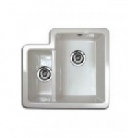 The Brindle Double Bowl Ceramic Sink by Reginox