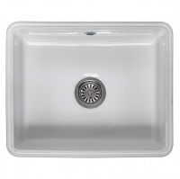 Mataro Single Bowl Ceramic Sink by Reginox