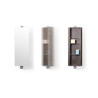 Dark Oak Domain Revolve 710 Bathroom Cabinet